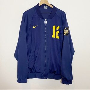 [Nike] Men's Michigan Wolverines 12 Bomber Jacket